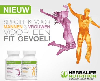 Formule 2 Vitaminen & Mineralen - Man of Vrouw